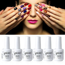Elite99 Soak-Off Gel Polish Nail Art Base Top Coat New 298 Bling Colors Manicure