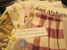 Herrschners National Afghan Contest Winner Booklet Your Choice-Knit/Baby/Crochet