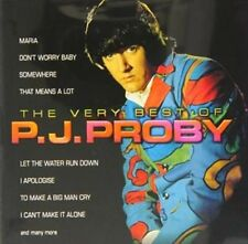 Very Best of P.j. Proby - P.j. Proby New & Sealed Compact Disc Free Shipping