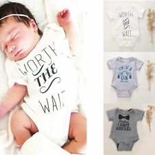 Newborn Baby Summer Clothes Baby Grow Romper Boys Girl Clothes Playsuits Outfit