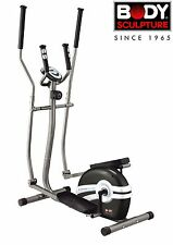 Body Sculpture BE6100 Magnetic Elliptical Cross Trainer with Hand Pulse