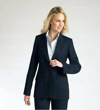 New Ladies Suit Jacket Navy Striped Clubclass Corporate wear RRP £75 size 8-22