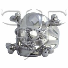 Pirate Ring | Stainless Steel Pirate Skull and Crossbones Ring | Skull Rings