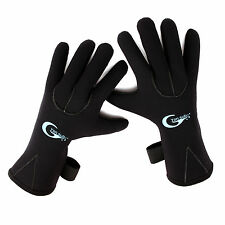 Adult 3mm Skid-proof Neoprene Wetsuit Gloves Swimming Diving Surfing Glove S-XL