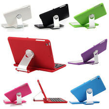 For iPad Mini Wireless Bluetooth Keyboard with Swivel Rotary Stand Cover Case