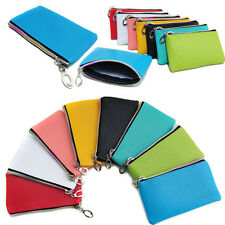 New Women Ladies Soft Leather Clutch Coin Wallet Card Purse Handbag Bags