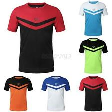 Men Sports Shirt T-shirt Quick Dry Cycling Bicycle Clothing Fitness Athletic Top
