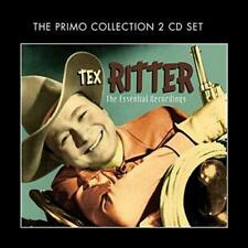 Essential Recordings - Tex Ritter New & Sealed CD-JEWEL CASE Free Shipping