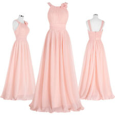 Women Summer Casual Chiffon Prom Bridesmaid Formal Gown Evening Cocktail Dress