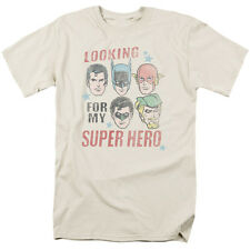 Justice League of America My Super Hero T-Shirt DC Comics Sizes S-3X NEW