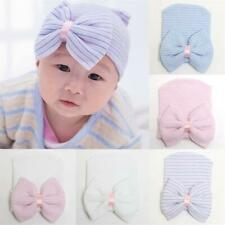 Cute Beanie Hat for Newborn Baby Infant Toddler Hospital Cap with Bowknot