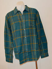 PRANA Mens Long Sleeve Winter Shirts -   CHECK - SIZE - LARGE - NEW