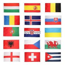 5 x 3FT World Flags National Country Flag Rugby Football World Cup Decor Banners