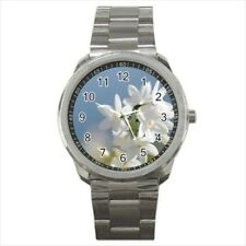 Jasmine Flowers Stainless Steel Watch