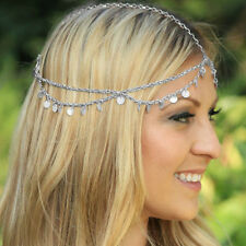 Fashion New Chain Jewelry Chain Headband Head shiny Piece Hair Band Tassels