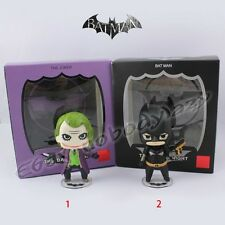 "Super Hero The Dark Knight Joker/Batman 8cm/3.2"" PVC Figure New In Box & No Box"