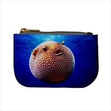 Puffer Fish Mini Coin Purse & Shoulder Clutch Handbag