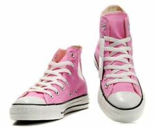 Converse Chuck Taylor Pink White Youth Boy Girl Hi Top Kids Shoes Size 10.5 - 13