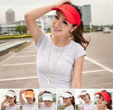 Women Men Summer Sports Golf Tennis Baseball Hat Beach Visor Sun Hat Unisex