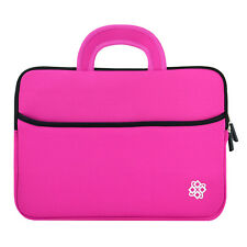 """Hot Pink 9"""" Inch Tablet Sleeve Bag for Nexus 9 / Kindle Fire HDX/ Tab 8.9"""