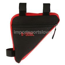 Triangle MTB Bike Cycling Bicycle Front Tube Frame Pouch Bag Saddle Panniers