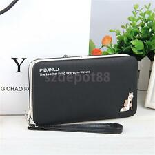 Women Lady Fashion Clutch Leather Long Handbag Wallet Coin Purse Fashionable
