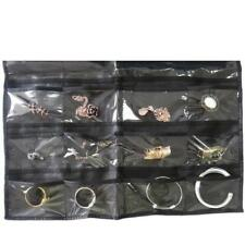 For Jewelry Storage Organizer Holder  Earring Display Hanging Bag 32 Pocket - SS