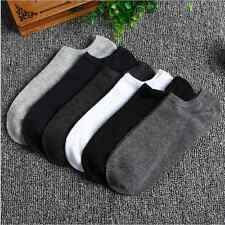6/12 Pairs Men's Ankle No Show Casual Sport Bamboo Fiber Socks Size 7-11 Low Cut