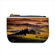 Tuscany Italy Mini Coin Purse & Shoulder Clutch Handbag