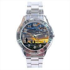 Golden Sunrise Perth Australia Stainless Steel Watches