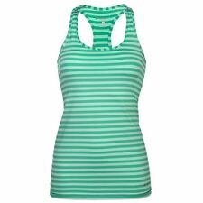 Brooks Womens Bring It Racer Back Vest Scoop Neck Running Sleeveless Top New