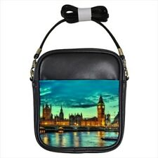 London Buckingham Palace Great Britain Leather Sling Bag & Women's Handbag