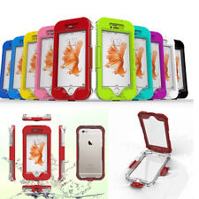 Shockproof Hybird Waterproof Case Hard PC Fitted Cover Pouch For iPhone Samsung