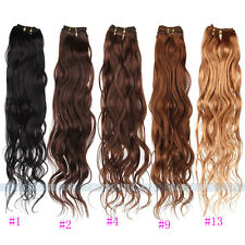 12''-28'' Real Virgin Wave 100% Real Human Hair Weaving Weft Extensions 50g