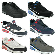 MENS LEGACY LACE UP ROUND TOE RUNNING WALKING CASUAL SHOES TRAINERS AIR TECH