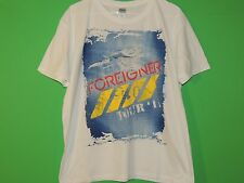 Foreigner World Tour 2011 Men's Size XL Extra Large White Concert T Shirt