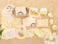 Newborn Baby Cute Clothes Girls Boys Clothing Set infant Outfits Suit12/17/18pcs