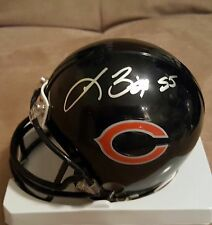 Lance Briggs Chicago Bears autographed mini helmet w/Marshall Authentics COA