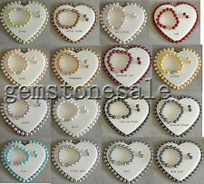 12mm Round Natural Sea Shell Pearls necklace Bracelet Earrings Set Wholesale Lot