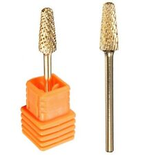 Electric Cylinder Carbide File Drill Bit Grint Nail Art Manicure Pedicure Tools