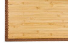 Natural Bamboo Area Rug Mat 4' X 6' Choice of 3 Colors  Tropical Eco Friendly