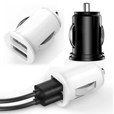 New 12V Power Dual 2 Port USB Mini Bullet Auto Charger Adapter for Phone