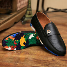 Driving PU Leather Shoes Mens casual slip on Loafer fashion