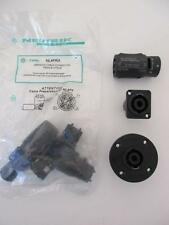 1x NEUTRIK 4-pole speakON Adapter or Cable or Panel Mount Female Male NOS