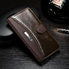 Luxury Magnetic Flip Leather Wallet Case Stand Cover For Huawei Ascend P9 Lite