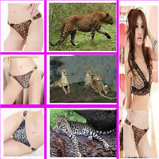Fashion Sexy Leopard PantiesThong G-string Panties Briefs Lingerie Underwear
