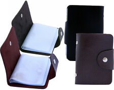 Business Name Credit ID Card Holder Leather Fine Card Holder Wallet Case