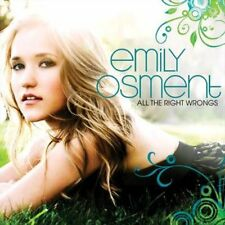 All the Right Wrongs - Emily Osment New & Sealed Compact Disc Free Shipping