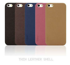 Colorant iPhone 5/5S/SE Ultrathin Polyurethane Thin Leather Texture Shell