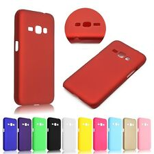 Slim Frosted Hard Plastic Case Cover + LCD Guard For Samsung Galaxy J1 2016 J120